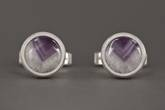 Photo: Amethyst Cufflinks