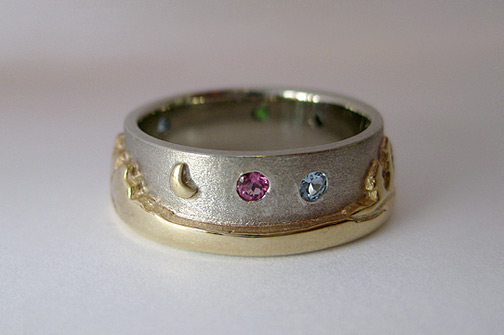 Photo - Landscape rings: Two-tone Canadian Landscape ring