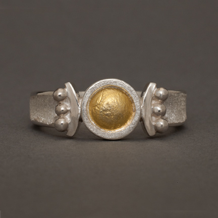 Arctic Sun/Moon Ring