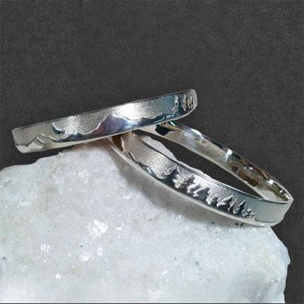 Photo - Treeline Bangle Bracelet