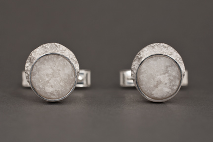 Photo: Frozen Moon Cufflinks