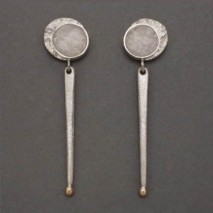 Photo - Frozen Moon/Sun Earrings