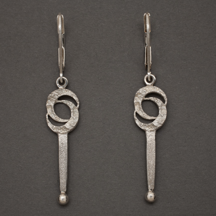 Double Crescent Moon Earrings #1
