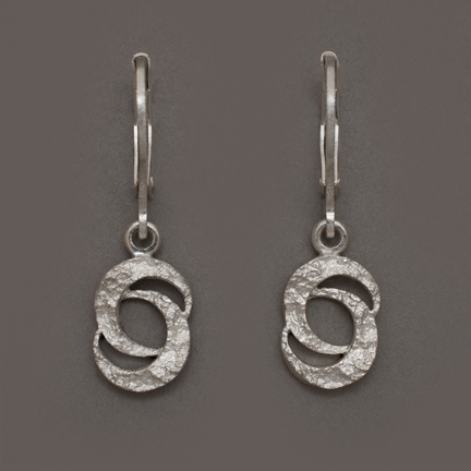Photo - Double Crescent Moon Earrings #2