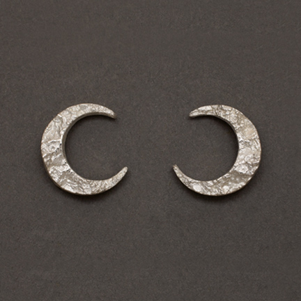 Photo - Crescent Moon Earrings