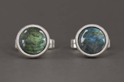 Photo - Labradorite Cufflinks