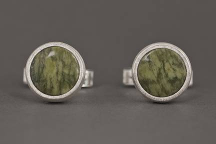 Photo - Nova Scotia Green Serpentine Cufflinks