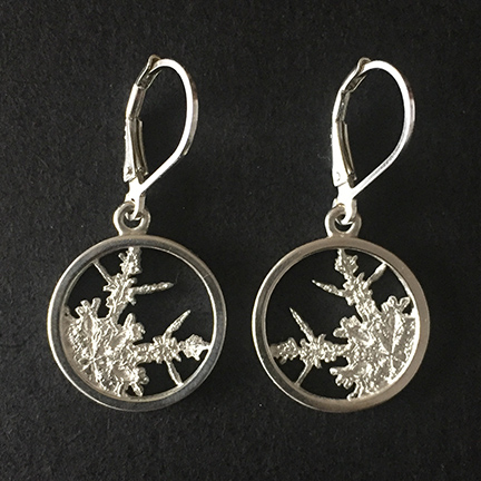 Snowflakes Drop Earrings