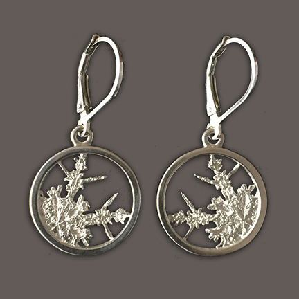 Snowflakes Earrings – Drop