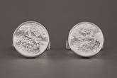 Photo: Full Moon Cufflinks