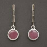 Photo: Rhodonite Earrings - Drop