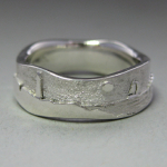 Photo: Custom variation: Lighthouse – Wide, Upper Rim, Sterling Silver