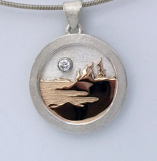 Photo - Custom Landscape Pendant