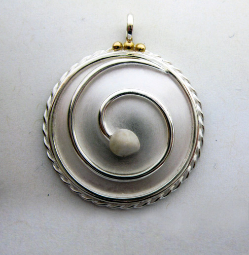 Photo - Custom spiral pendant
