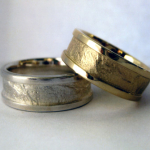 Photo: Custom variation: Petra – 14k Yellow Gold, Sterling Silver